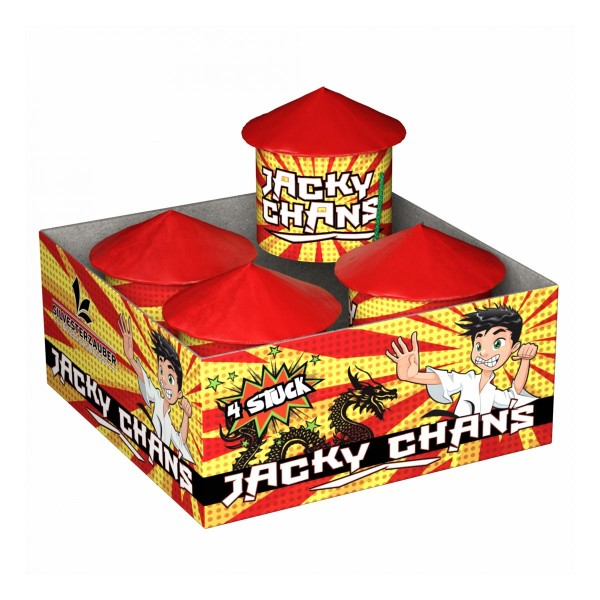 Jackie Chans Leuchtfeuerwerk Vögel Lesli Feuerwerk