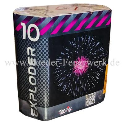 Exploder 10 Batteriefeuerwerk Tropic Tropic