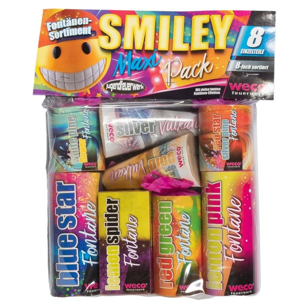 Weco Smiley Maxi Pack bei Röder Feuerwerk online bestellen