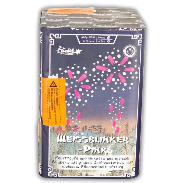 Weißblinker-Pink FC30-16-8 Batteriefeuerwerk funke