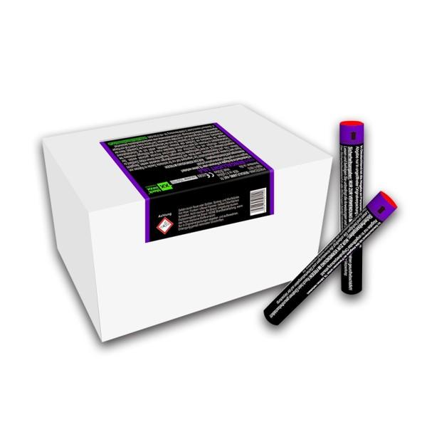 Figurenlicht raucharm lila Bühnenfeuerwerk Figurenlichter Blackboxx Fireworks