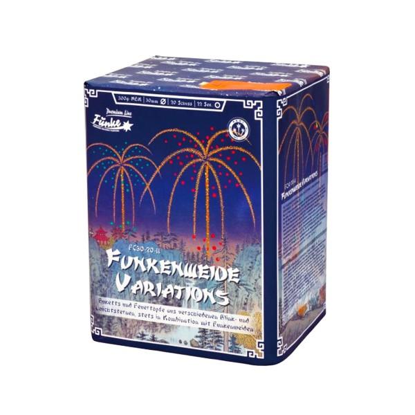 Funkenweide Variations FC30-20-11 Batteriefeuerwerk funke