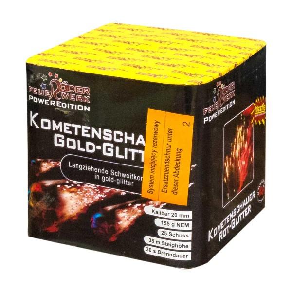 Kometenschauer Gold-Glitter Batteriefeuerwerk Röder Feuerwerk