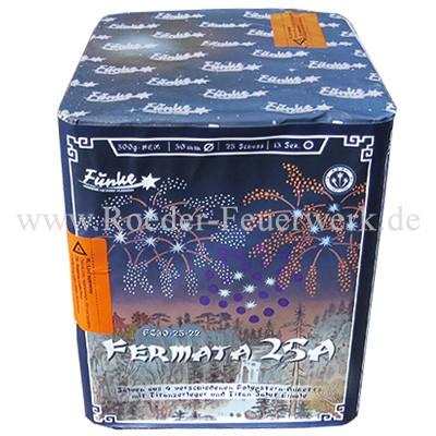Fermata 25A FC30-25-22 Batteriefeuerwerk funke