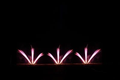 Auch ein leises Feuerwerk oder Barockfeuerwerk ist für eine Firmenfeier gut geeignet