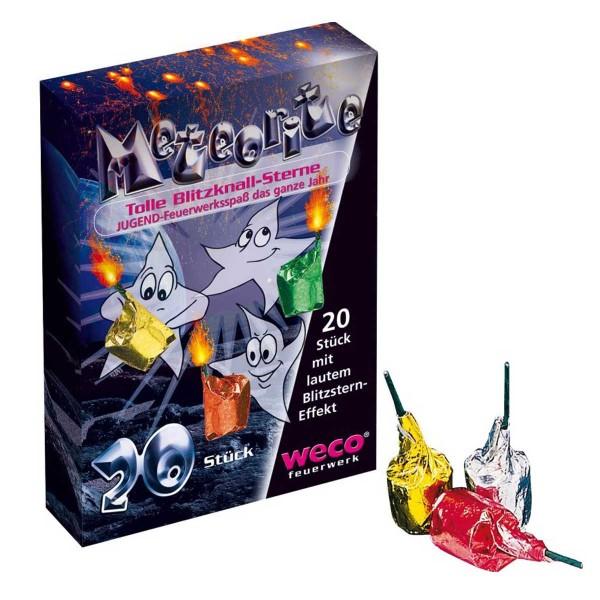 Meteorite 20er Jugendfeuerwerk Jugendfeuerwerk Weco Feuerwerk