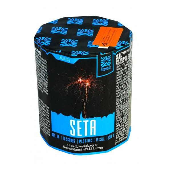 Seta Feuerwerksbatterie von Argento Feuerwerk
