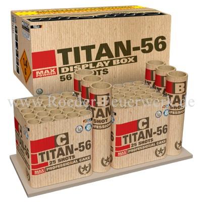 Titan 56 Verbundfeuerwerk Lesli Feuerwerk