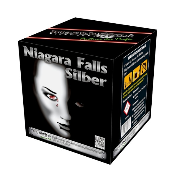 Niagara Falls silber Batteriefeuerwerk Blackboxx Fireworks