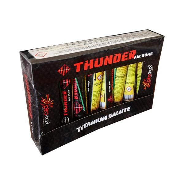 Thunder Air Bomb Einzelschuss Bombenrohre Piromax