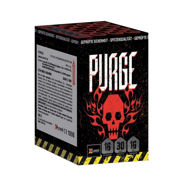Purge Batteriefeuerwerk Xplode Feuerwerk