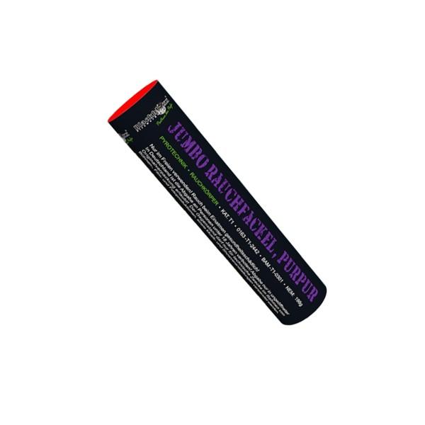 Jumbo Rauchfackel purpur Bühnenfeuerwerk Rauch Blackboxx Fireworks