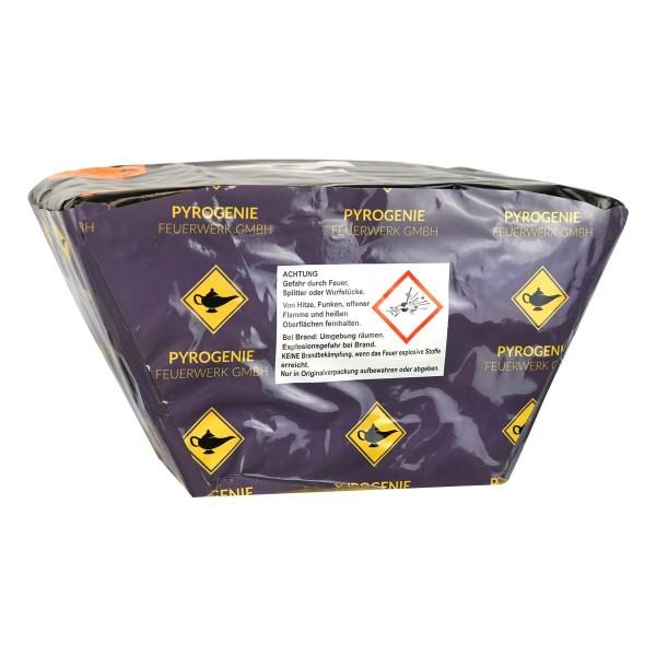 Pyrogenie Feuerwerksbatterie mit leisen Fisch und Blink Effekten