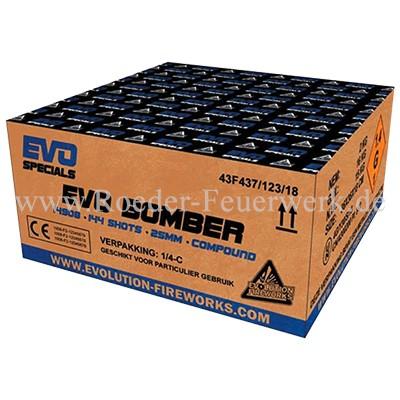 Evo Bomber 1er-Kiste Verbundfeuerwerk Evolution Feuerwerk