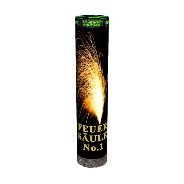 Feuersäule No.1 gold- blau Bühnenfeuerwerk Outdoor Fontänen Blackboxx Fireworks