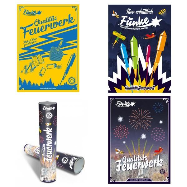 Funke Werbeposter bei Röder Feuerwerk kaufen