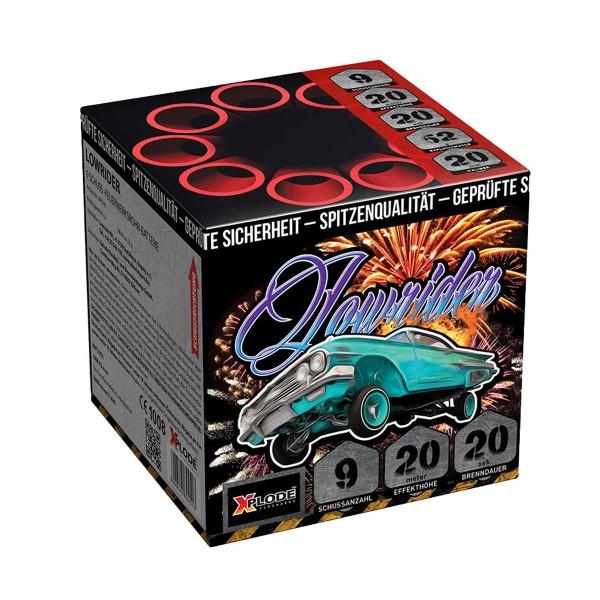 Lowrider Batteriefeuerwerk Xplode Feuerwerk
