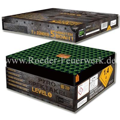 Pyro Spektakel Level 5 Verbundfeuerwerk Blackboxx Fireworks
