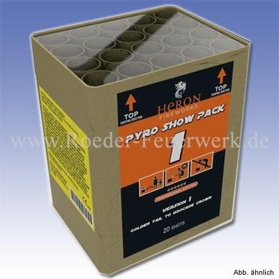 Pyro Show Pack 1- 18 Batteriefeuerwerk Heron Feuerwerk
