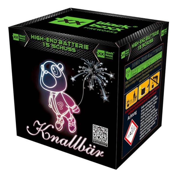 Knallbär Batteriefeuerwerk Blackboxx Fireworks