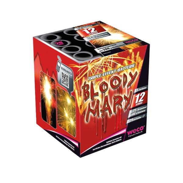 Bloody Mary Batteriefeuerwerk weco feuerwerk