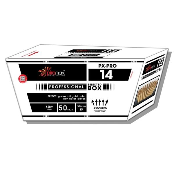 PX-Pro 14 Fächerbatterie Batteriefeuerwerk Piromax