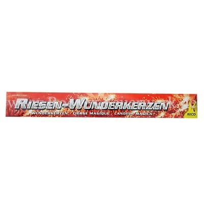 Wunderkerzen 45cm 5er- Schachtel Jugendfeuerwerk Wunderkerzen Bengalfackeln Nico Feuerwerk