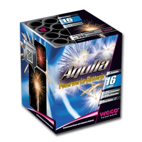 Aquila Batteriefeuerwerk weco feuerwerk