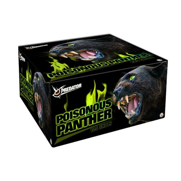 Poisonous Panther Verbundfeuerwerk Lesli Feuerwerk