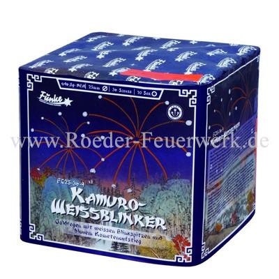 Kamuro Weißblinker 25mm FC25-36-9 Batteriefeuerwerk funke