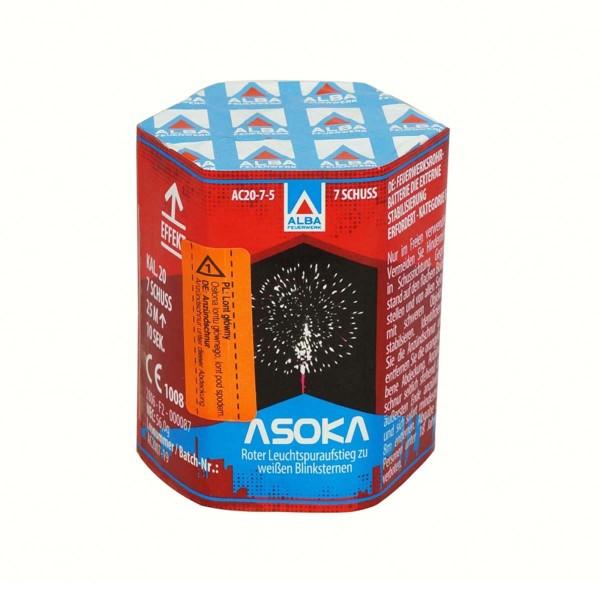 ALBA Feuerwerk Feuerwerksbatterie Asoka