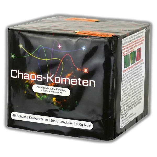 Feuerwerksbatterie Chaos Kometen von Röder Feuerwerk