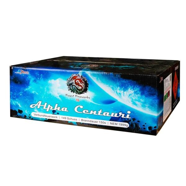 Verbundfeuerwerk Alpha Centauri von Röder Feuerwerk zum günstigen Preis