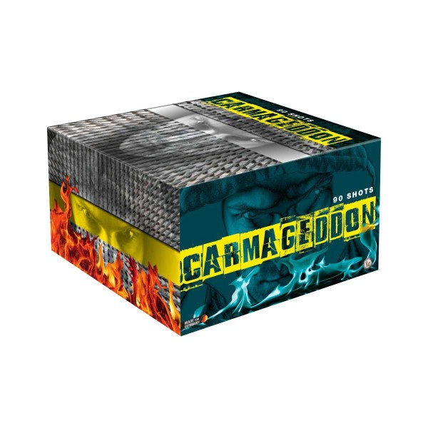 Carmageddon Verbundfeuerwerk Lesli Feuerwerk