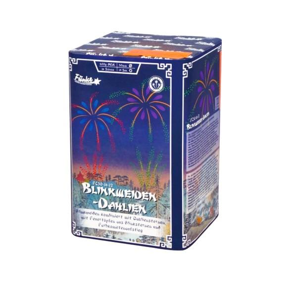 Blinkweiden-Dahlien FC30-16-12 Batteriefeuerwerk funke