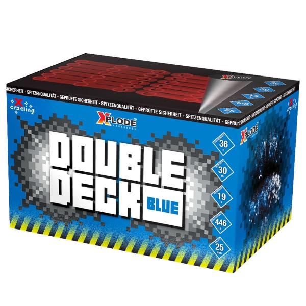Double Deck Blue Batteriefeuerwerk Xplode Feuerwerk