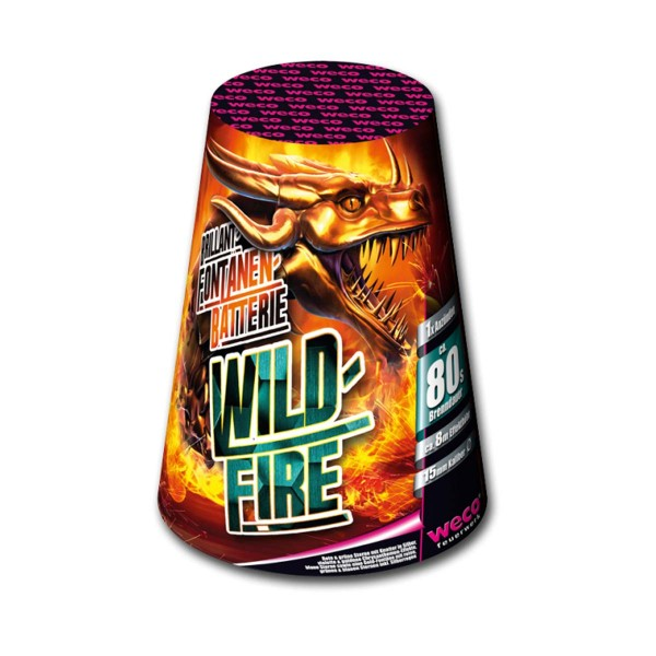 Wildfire Leuchtfeuerwerk Fontänen Weco Feuerwerk