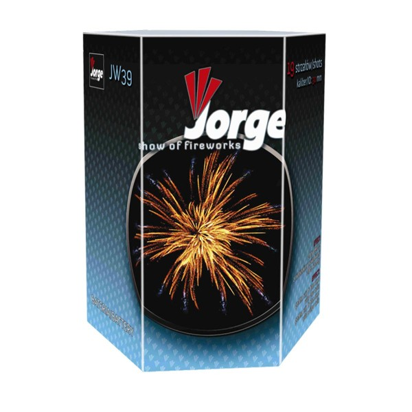 Show of Fireworks JW39 Kategorie F3 Batteriefeuerwerk Jorge Feuerwerk