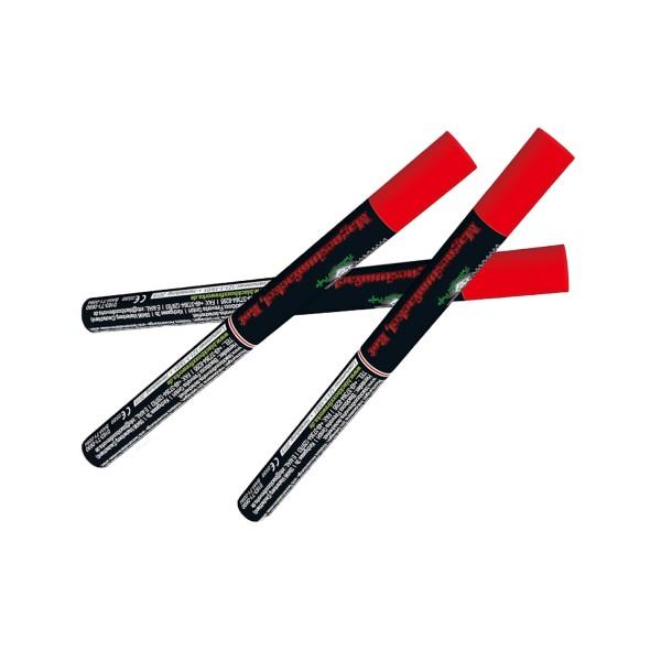 Magnesiumfackel rot Bühnenfeuerwerk Bengalfeuer Blackboxx Fireworks