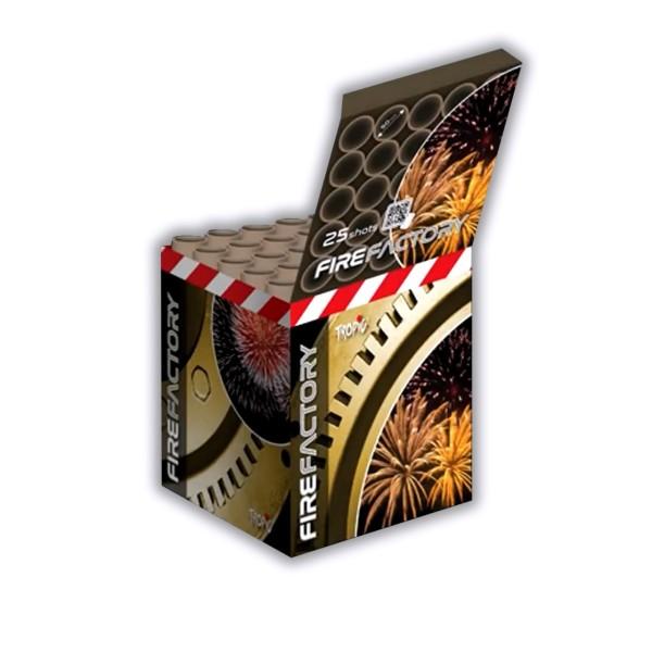 Fire Factory 50mm Kategorie F3 Batteriefeuerwerk Tropic