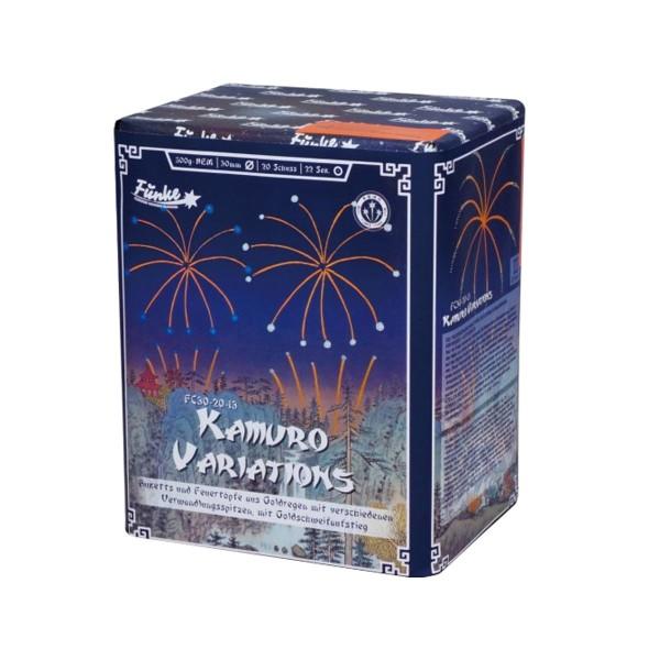 Kamuro Variations FC30-20-13 Batteriefeuerwerk funke