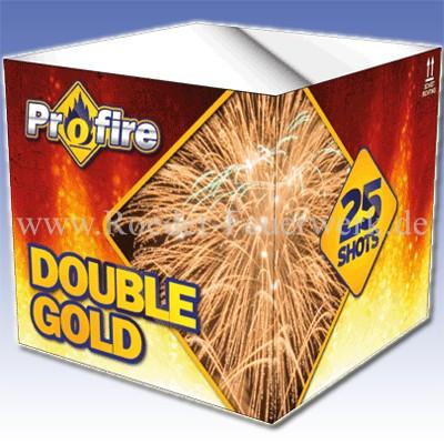 Double Gold Color 2er- Kiste Batteriefeuerwerk evolution Feuerwerk