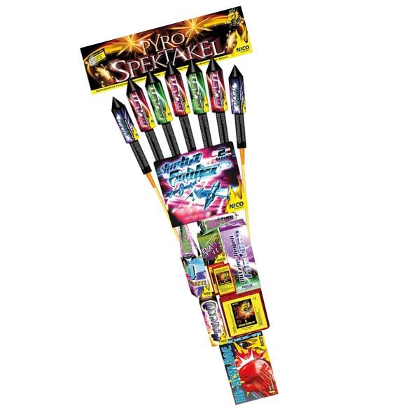 Feuerwerksraketen-Sortiment Pyro-Spektakel von Nico Feuerwerk