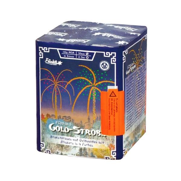 Gold-Strobe FC20-16-5 Batteriefeuerwerk funke
