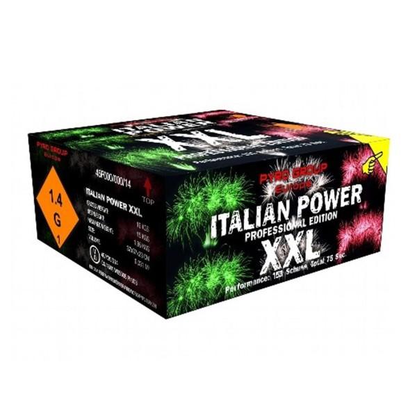 Italian Power XXL Verbundfeuerwerk PGE Pyrotrade