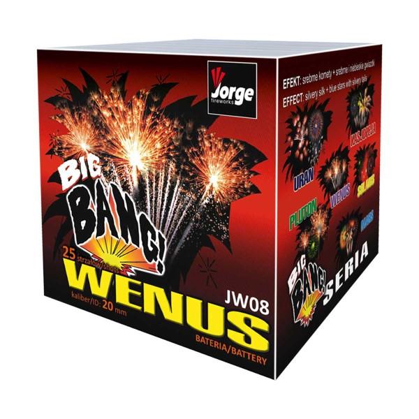 Wenus Batteriefeuerwerk Jorge Feuerwerk