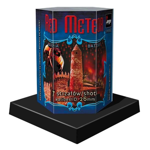 Red Meteor Batteriefeuerwerk Jorge Feuerwerk
