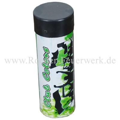 Funke Club Colors Green Bühnenfeuerwerk Rauch Funke