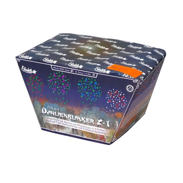 Dahlienblinker Z-1 (FC25-36-4) Batteriefeuerwerk funke