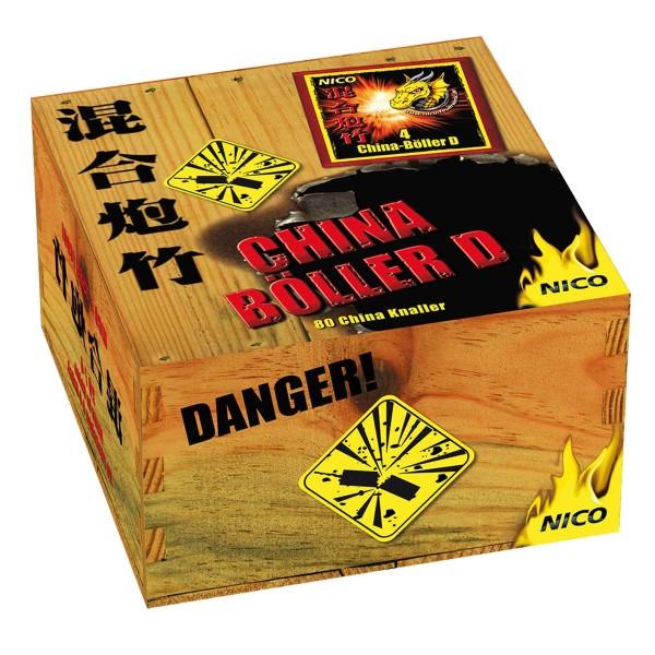 Nico China-Böller D Umkarton Knallartikel Chinaware Nico Feuerwerk